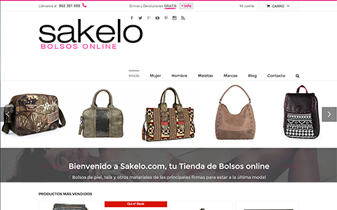 Sakelo Bolsos Online