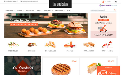 The Cooksters - Productos Gourmet para Profesionales