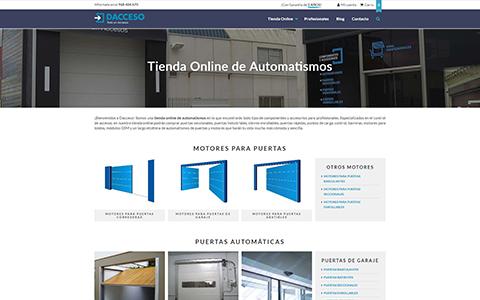Dacceso - Tienda Online de Automatismos
