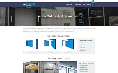 Dacceso - Tienda Online de Automatismos