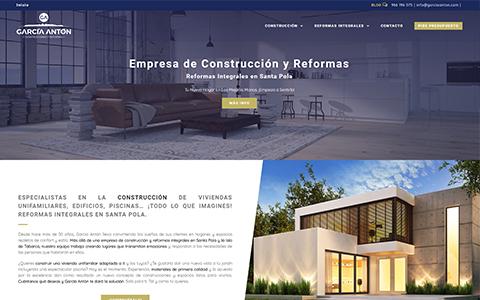 GarciaAnton - Empresa de Construcción y Reformas